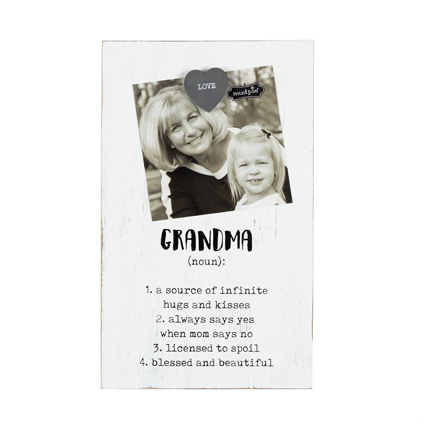 Mud Pie Magnetic Grandparents Frame-Mud Pie-BeautyOfASite | Beauty, Fashion & Gourmet Boutique