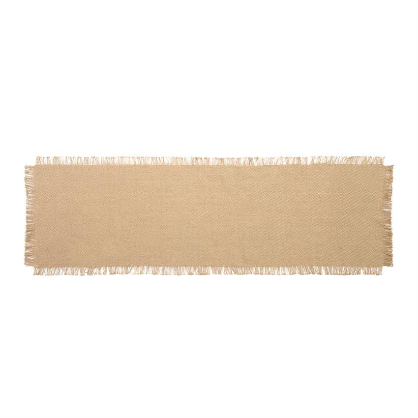 Mud Pie Natural Jute Table Runner-Mud Pie-BeautyOfASite | Beauty, Fashion & Gourmet Boutique