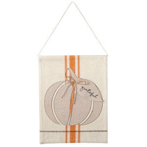 Mud Pie Pumpkin Door Hanger-Mud Pie-BeautyOfASite | Beauty, Fashion & Gourmet Boutique