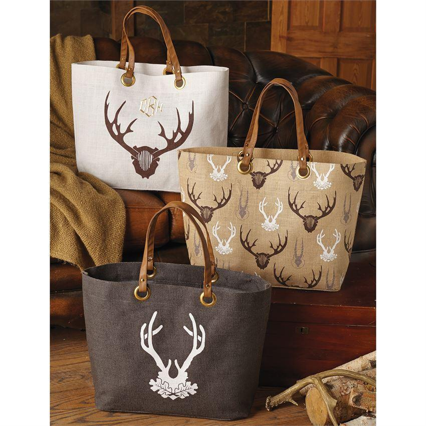 Mud Pie Staghorn Jute Totes-Mud Pie-BeautyOfASite | Beauty, Fashion & Gourmet Boutique