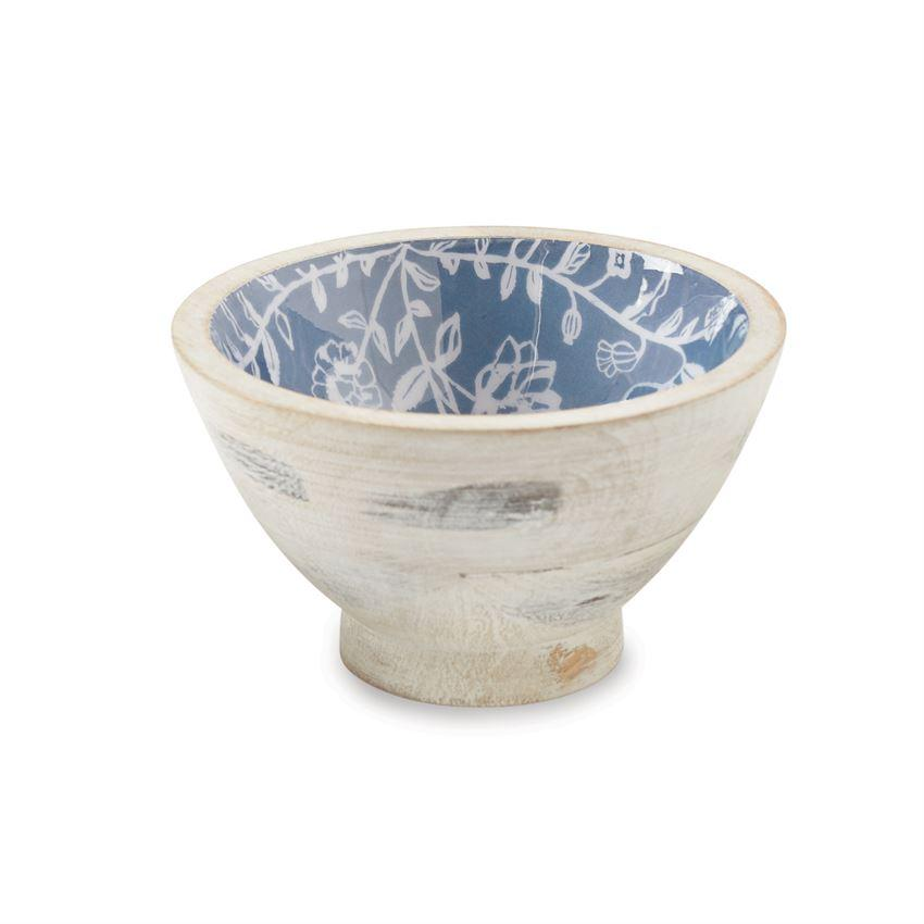 Mud Pie Stamped Wooden Dip Bowl-Mud Pie-BeautyOfASite | Beauty, Fashion & Gourmet Boutique