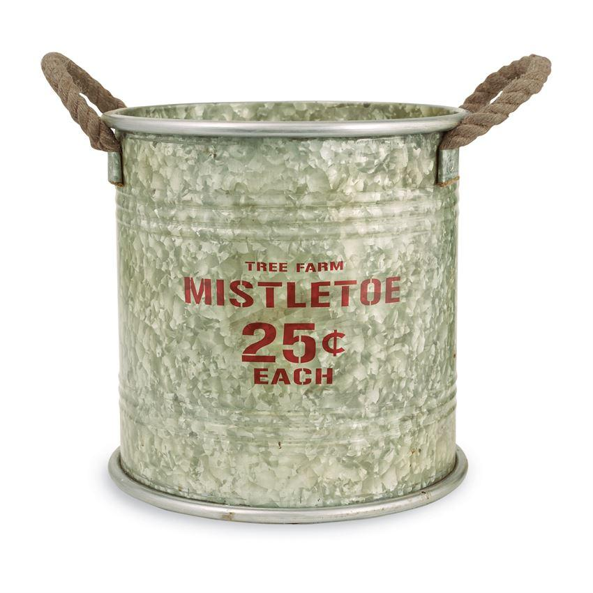 Mud Pie Tin Holiday Bucket-Mud Pie-BeautyOfASite | Beauty, Fashion & Gourmet Boutique