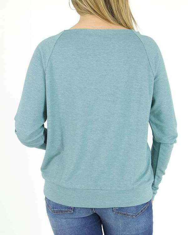 Grace & Lace Kangaroo Pullover