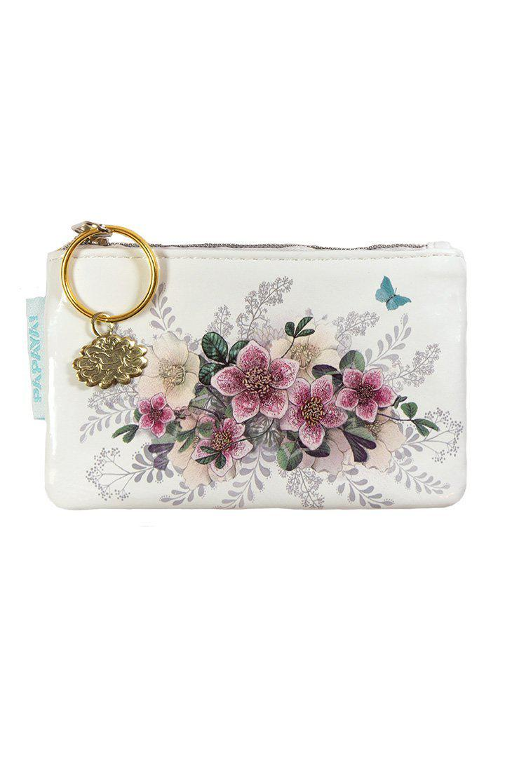 Papaya Art Hellebore Coin Purse-PAPAYA!-BeautyOfASite | Beauty, Fashion & Gourmet Boutique