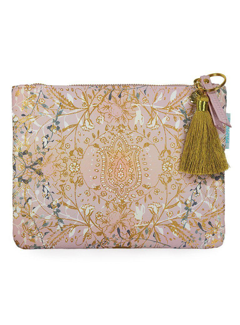 Papaya Art Lotus Garden Pocket Clutch-PAPAYA!-BeautyOfASite | Beauty, Fashion & Gourmet Boutique