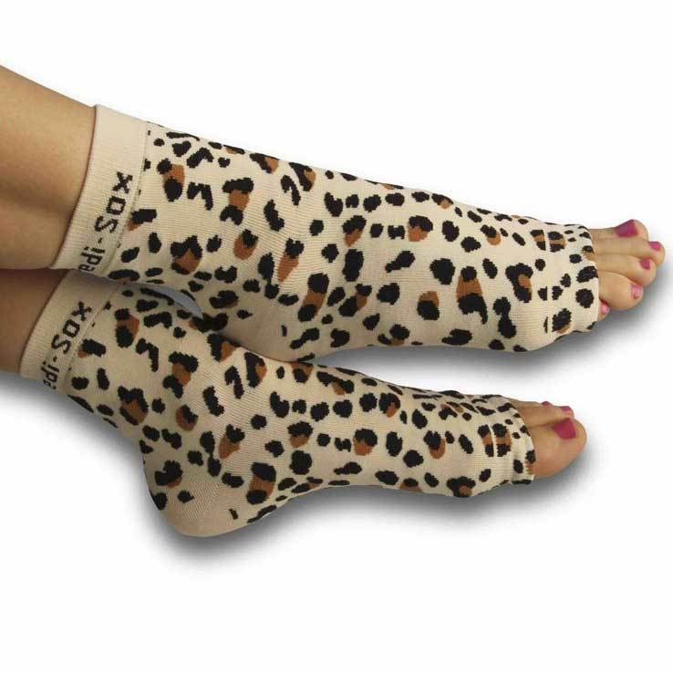 Pedi-Sox Baby Leopard Pedicure Socks - Ultra Collection-Original Pedi-Sox-BeautyOfASite | Beauty, Fashion & Gourmet Boutique