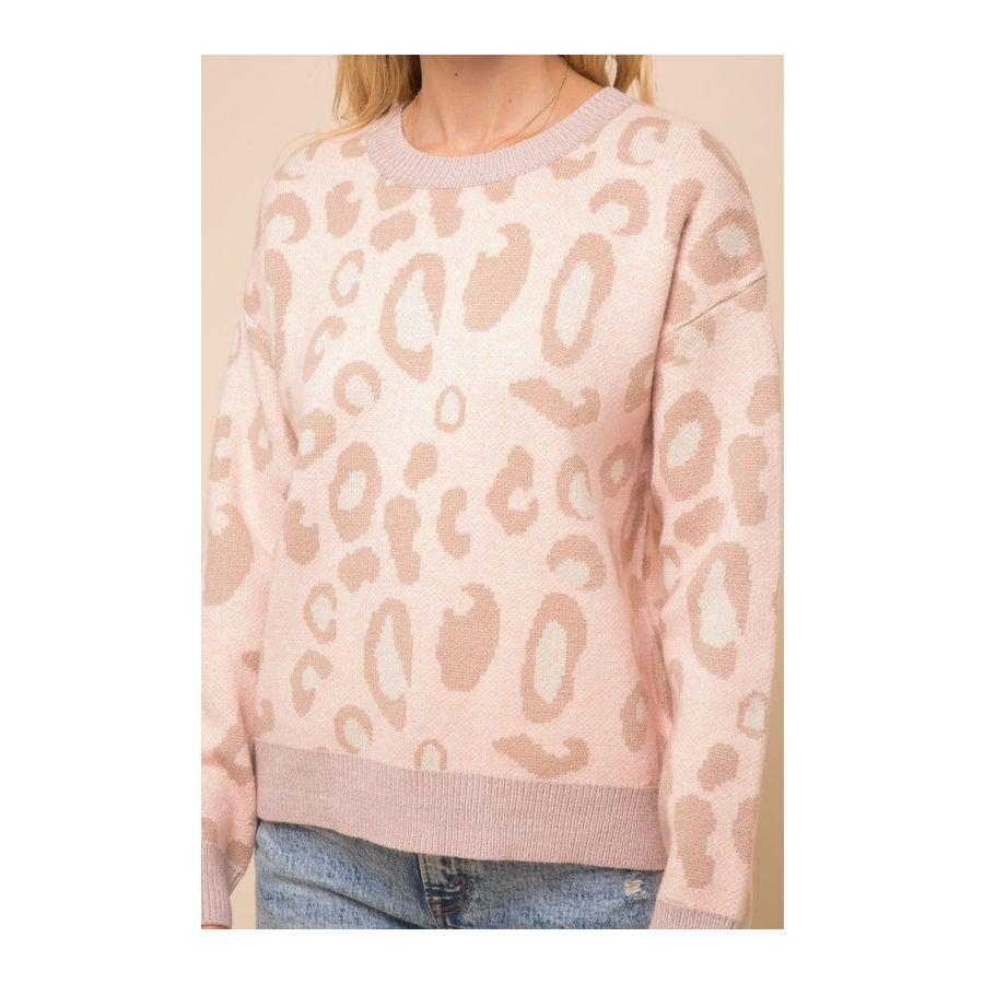 Love Spots Leopard Sweater