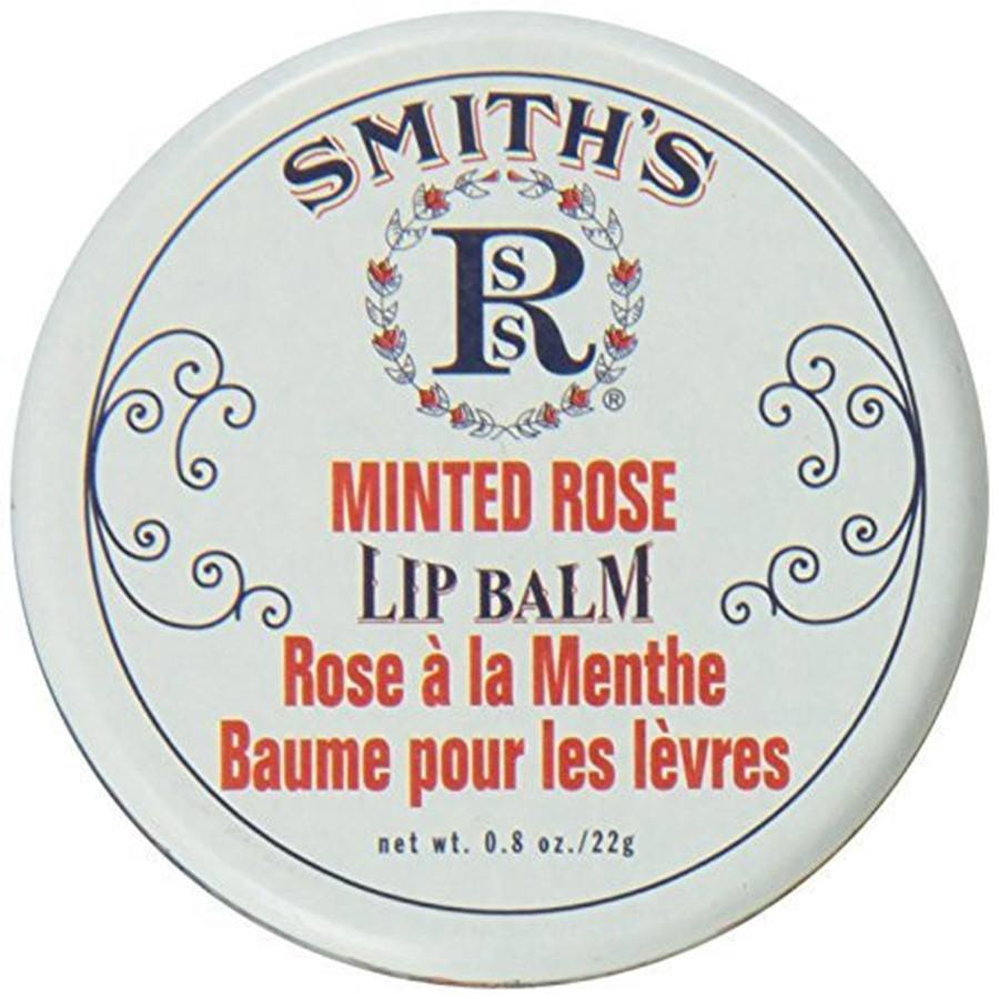 Rosebud Perfume Co Smith's Minted Rose Lip Balm - 0.8 oz-Rosebud Perfume Co.-BeautyOfASite | Beauty, Fashion & Gourmet Boutique
