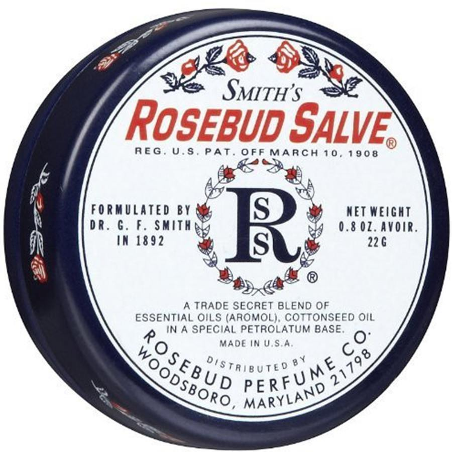 Rosebud Perfume Co Smith's Salve Tin - 0.8 oz-Rosebud Perfume Co.-BeautyOfASite | Beauty, Fashion & Gourmet Boutique