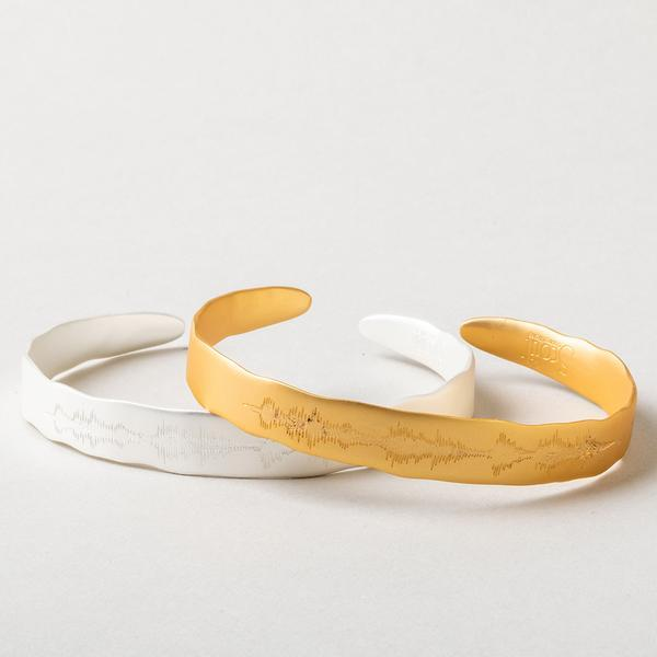 "Scout Curated Wears Echo Cuff - ""Live in the sunshine""-Scout Curated Wears-BeautyOfASite 