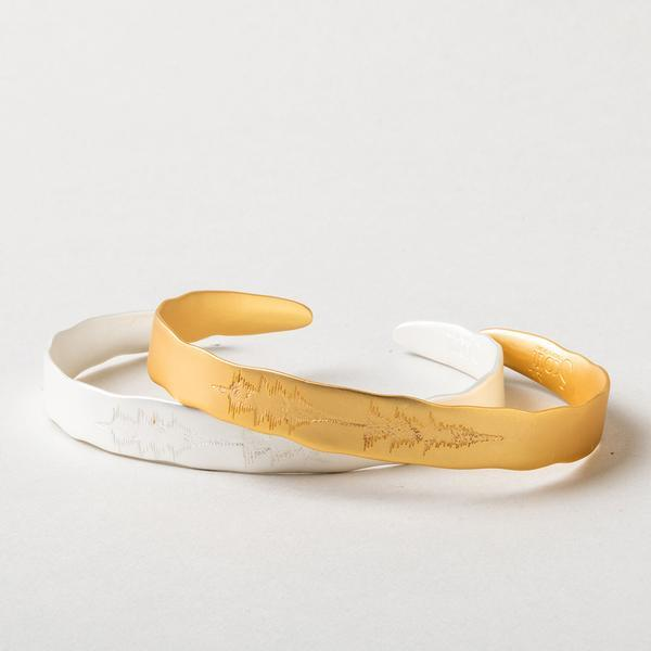 "Scout Curated Wears Echo Cuff - ""You make me happy""-Scout Curated Wears-BeautyOfASite 