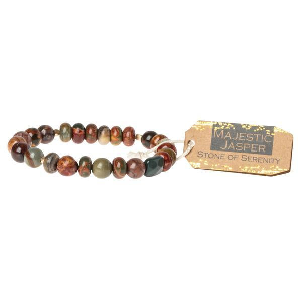 Scout Curated Wears Stone Stacking Bracelet - Majestic Jasper-Scout Curated Wears-BeautyOfASite | Beauty, Fashion & Gourmet Boutique