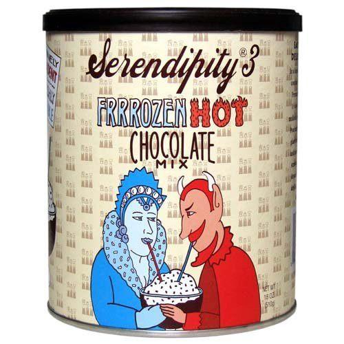 Serendipity 3 Frrrozen Hot Chocolate Mix - 18 oz Canister-Serendipity 3-BeautyOfASite | Beauty, Fashion & Gourmet Boutique