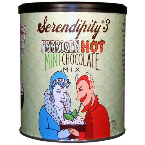 Serendipity 3 Frrrozen Hot Mint Chocolate Mix - 18 oz Canister-Serendipity 3-BeautyOfASite | Beauty, Fashion & Gourmet Boutique
