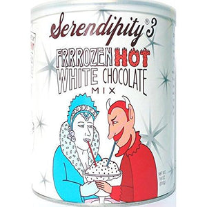 Serendipity 3 Frrrozen Hot White Chocolate Mix - 18 oz Canister-Serendipity 3-BeautyOfASite | Beauty, Fashion & Gourmet Boutique