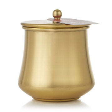 Thymes Simmered Cider Gold Kettle Candle