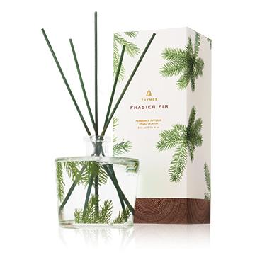 Thymes Frasier Fir Pine Needle Reed Diffuser-Thymes-BeautyOfASite | Beauty, Fashion & Gourmet Boutique