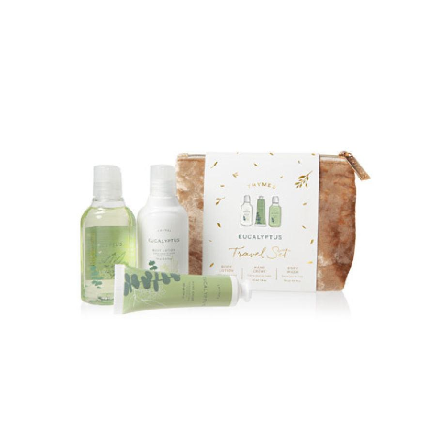 Thymes Eucalyptus Travel Set with Beauty Bag