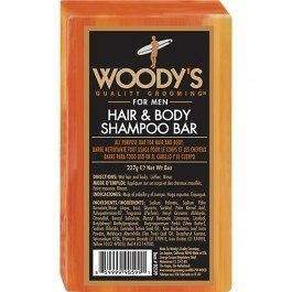 Woody's Quality Grooming Hair and Body Shampoo Bar - 8 oz-Woody's Grooming-BeautyOfASite | Beauty, Fashion & Gourmet Boutique