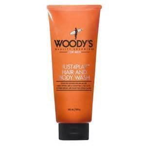 Woody's Quality Grooming Just 4 Play Hair and Body Wash - 10 oz-Woody's Grooming-BeautyOfASite | Beauty, Fashion & Gourmet Boutique