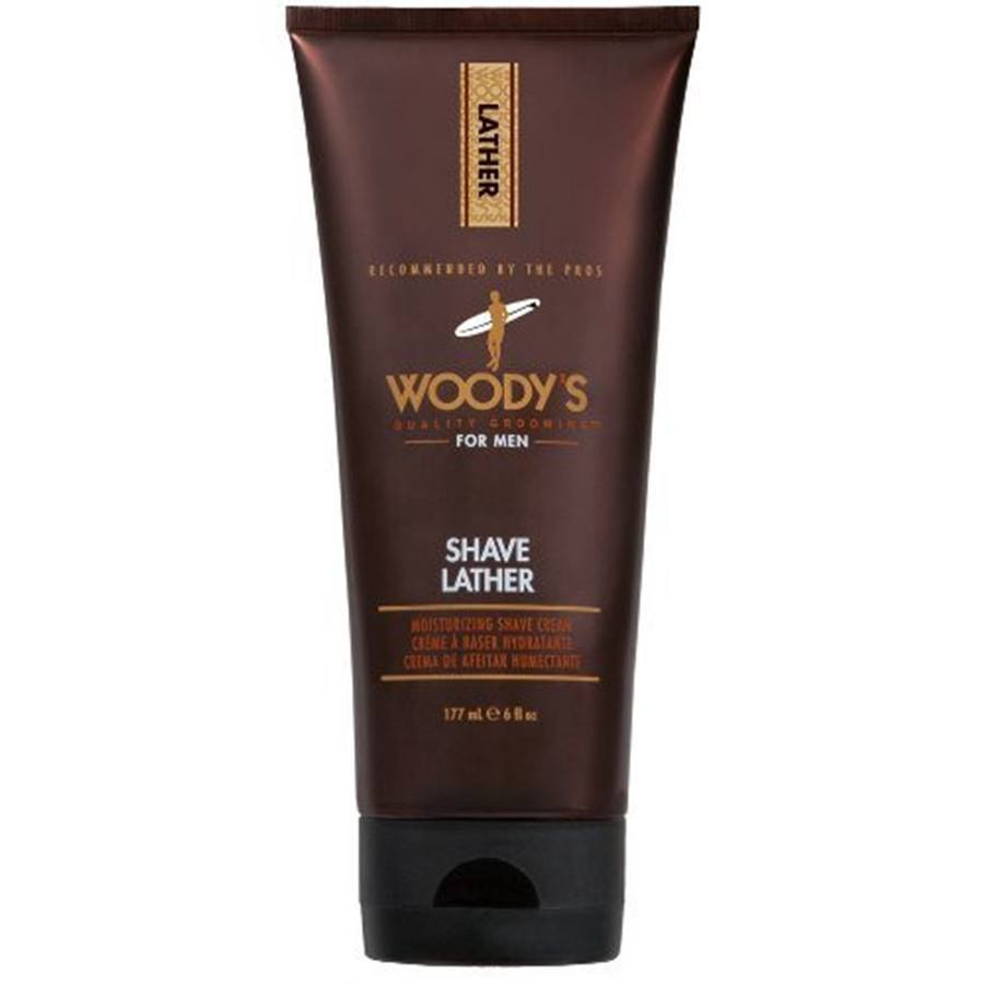 Woody's Quality Grooming Shave Lather - 6 oz-Woody's Grooming-BeautyOfASite | Beauty, Fashion & Gourmet Boutique