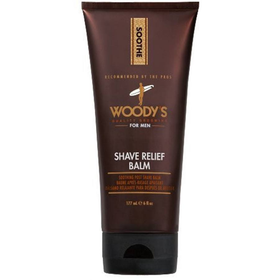 Woody's Quality Grooming Shave Relief Balm - 6 oz-Woody's Grooming-BeautyOfASite | Beauty, Fashion & Gourmet Boutique