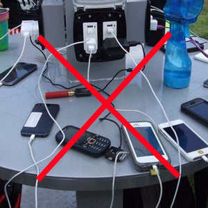 Why you should avoid public phone charging stations
