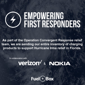 FuelBox teams up with Verizon and Nokia to provide power and relief to Hurricane Irma Victims