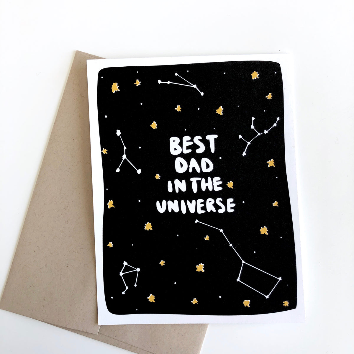 Best Dad in the Universe Father's Day Card