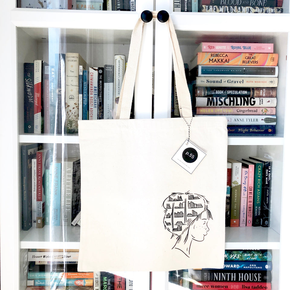 Books Always in my Head Tote