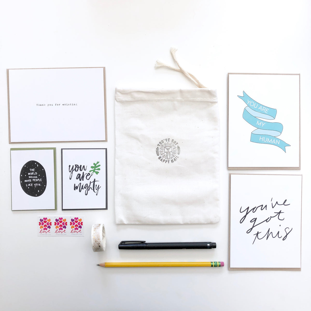 Happy Mail Stationery Kit