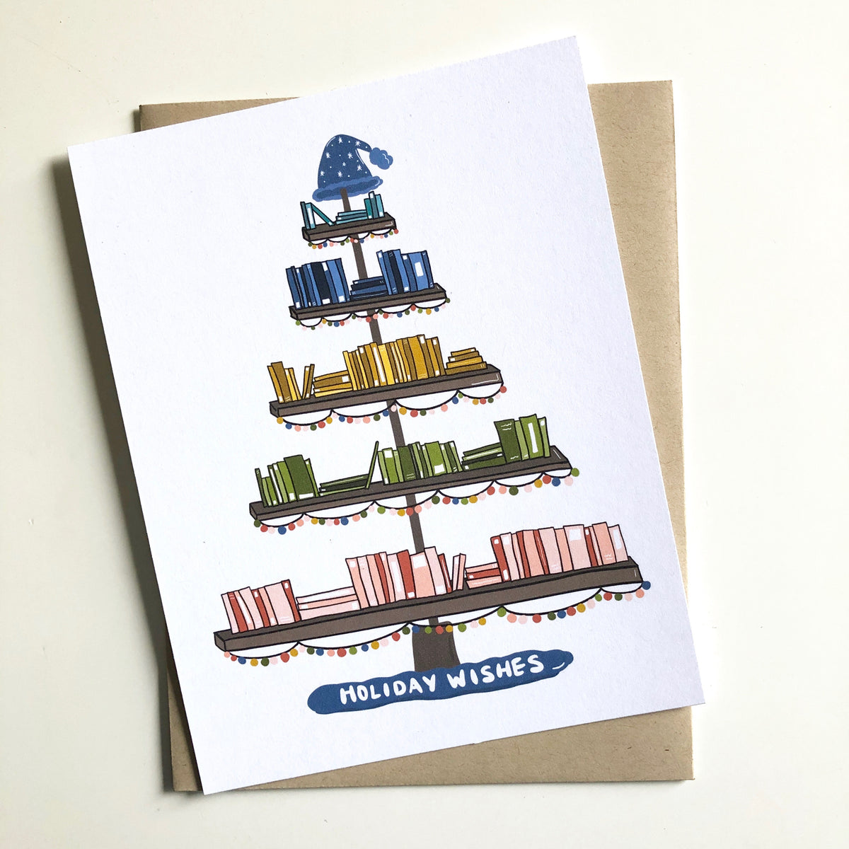 Book Lover Holiday Card