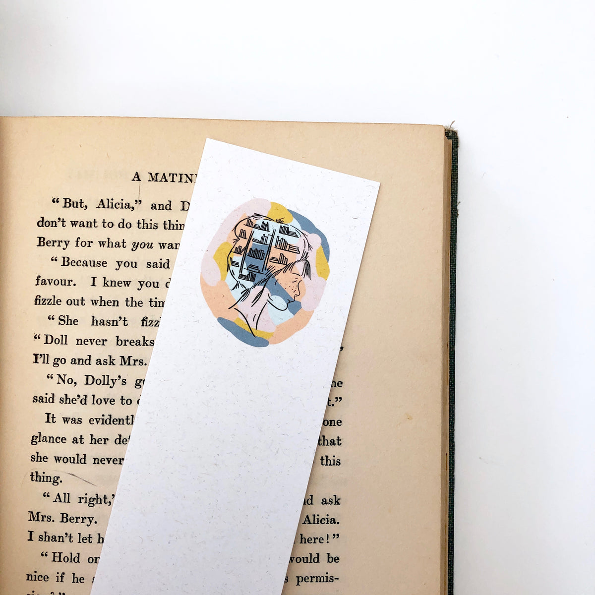 Books in My Head Bookmark