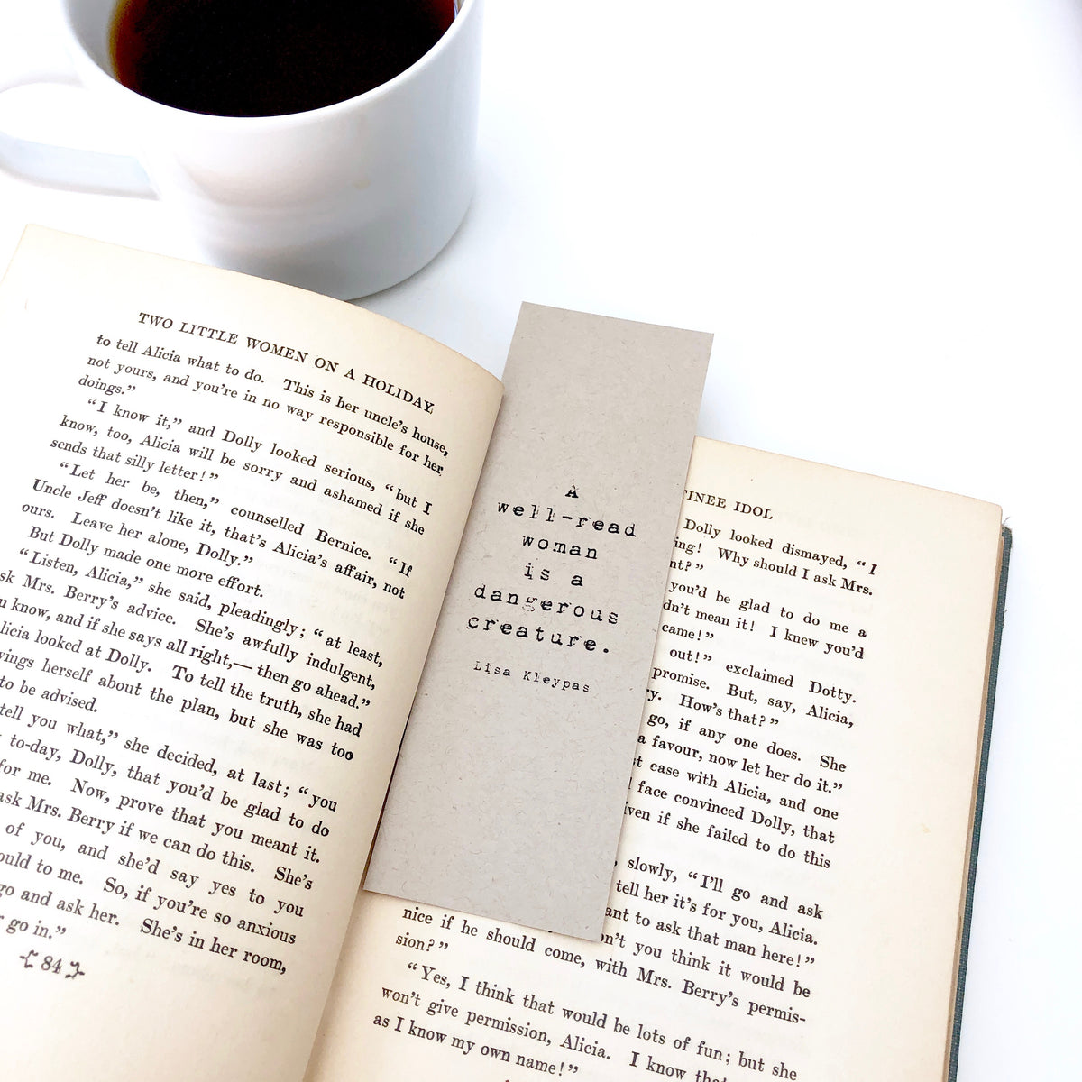 A Well Read Woman Bookmark