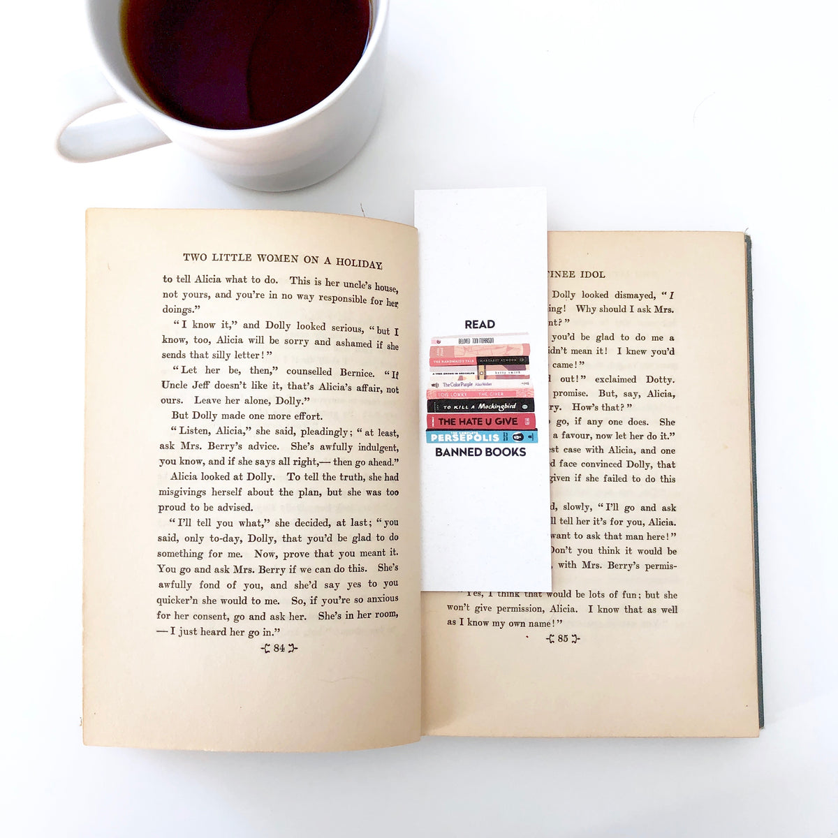 Read Banned Books Bookmark