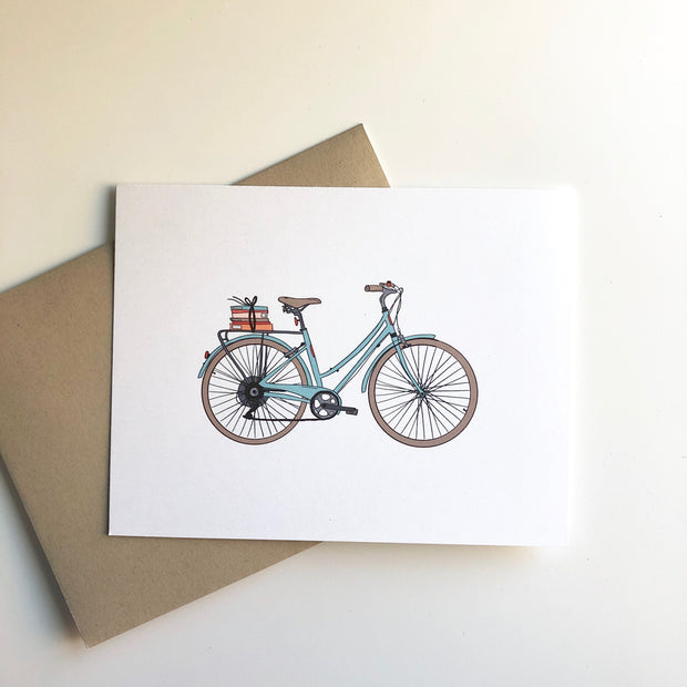 Bikes and Books Card