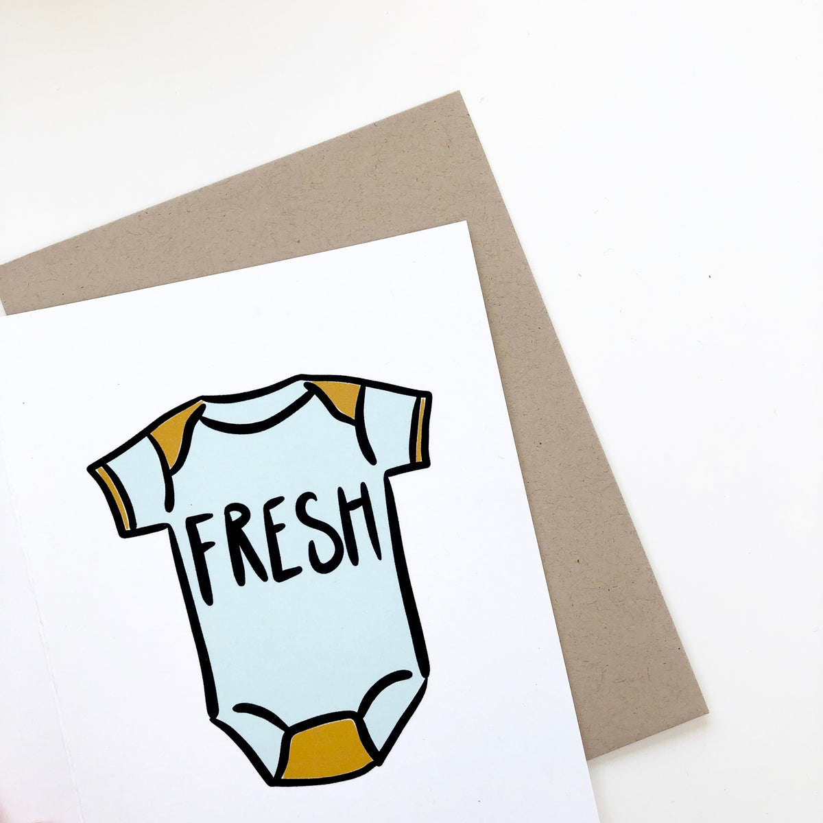 Fresh New Baby Card