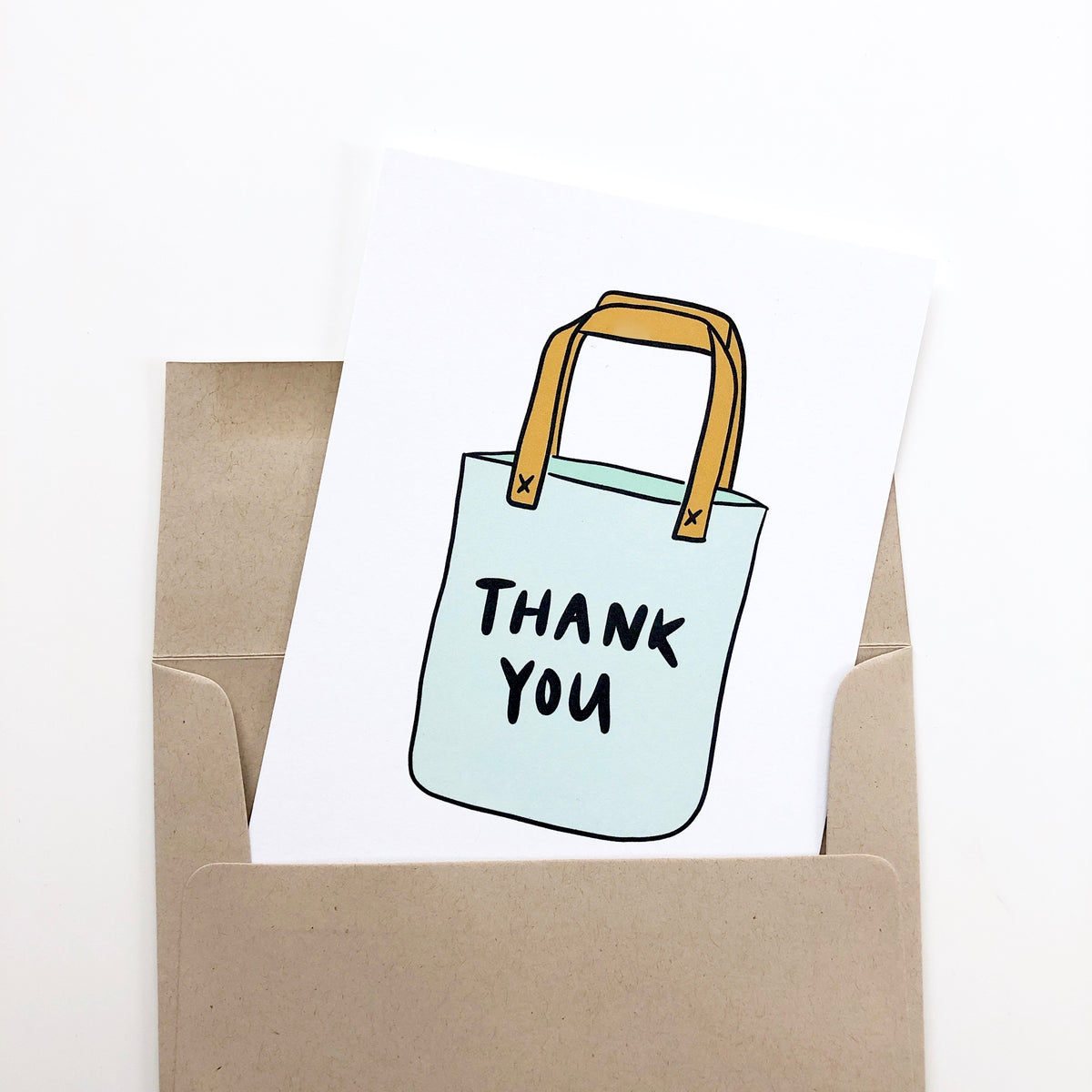 Resuable Bag Thank You Card
