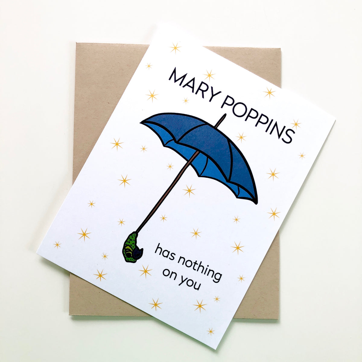 Mary Poppins Mother's Day Card