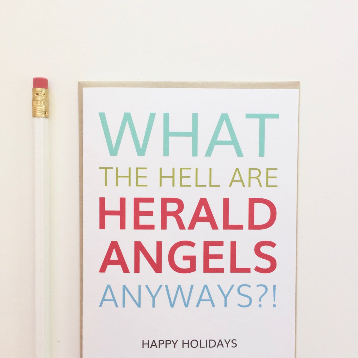 Herald Angels Holiday Card
