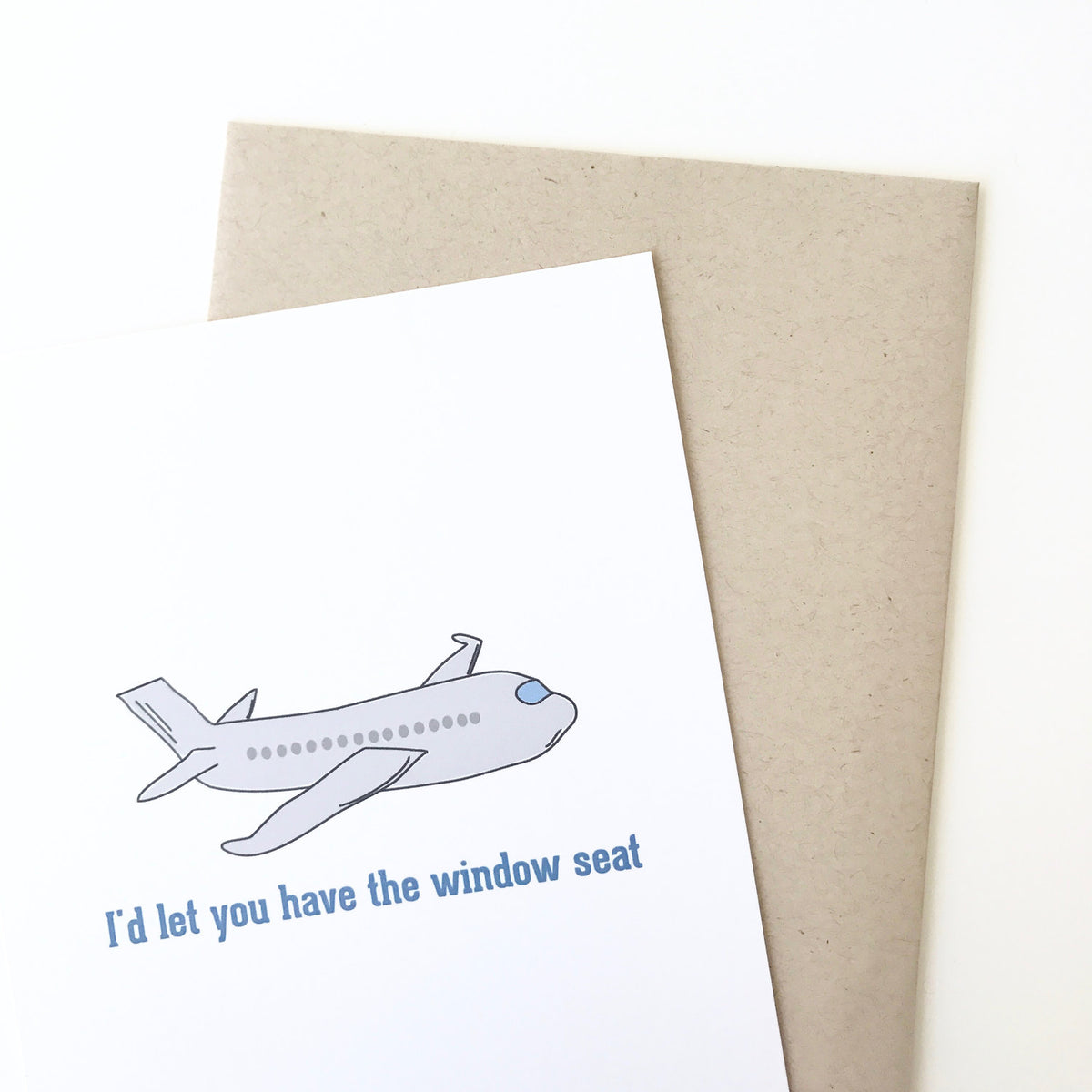 Window Seat/Aisle Seat Card