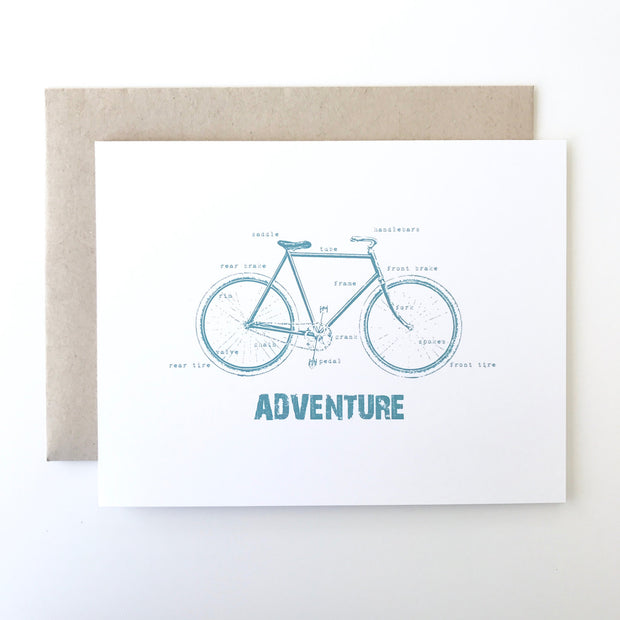 Bicycle Adventure Card