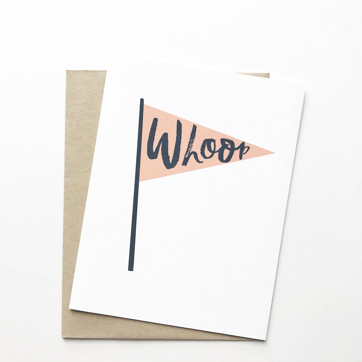 Whoop Flag Card