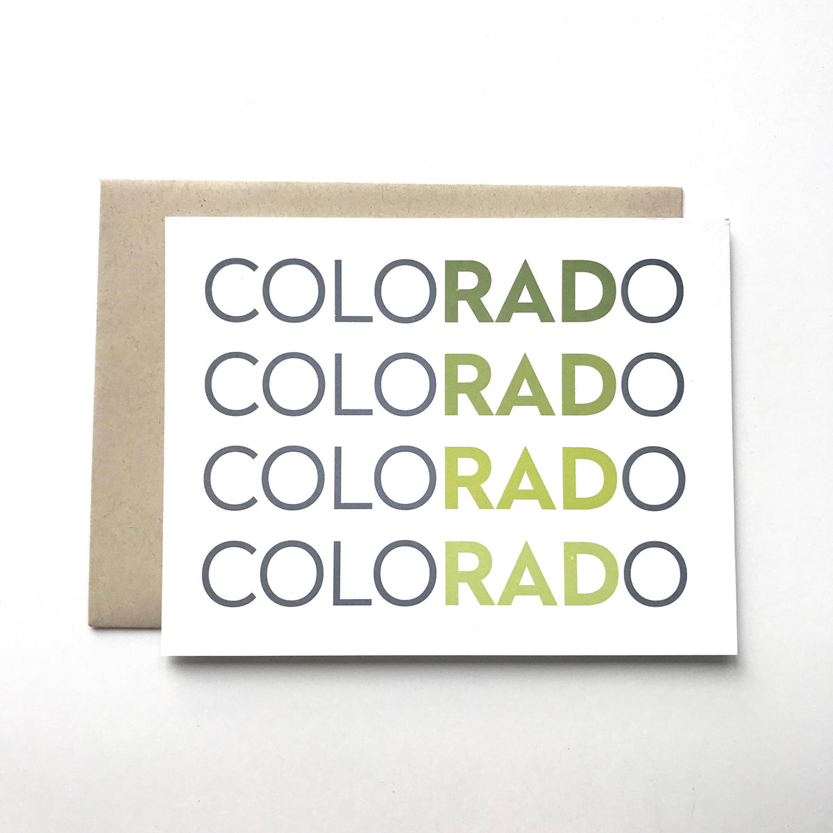Colorado is RAD card