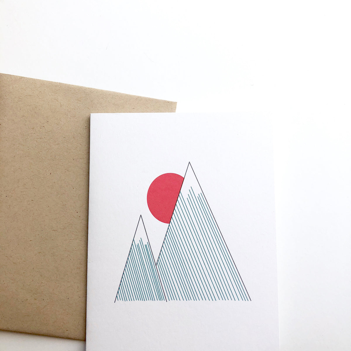 Striped Mountain Card