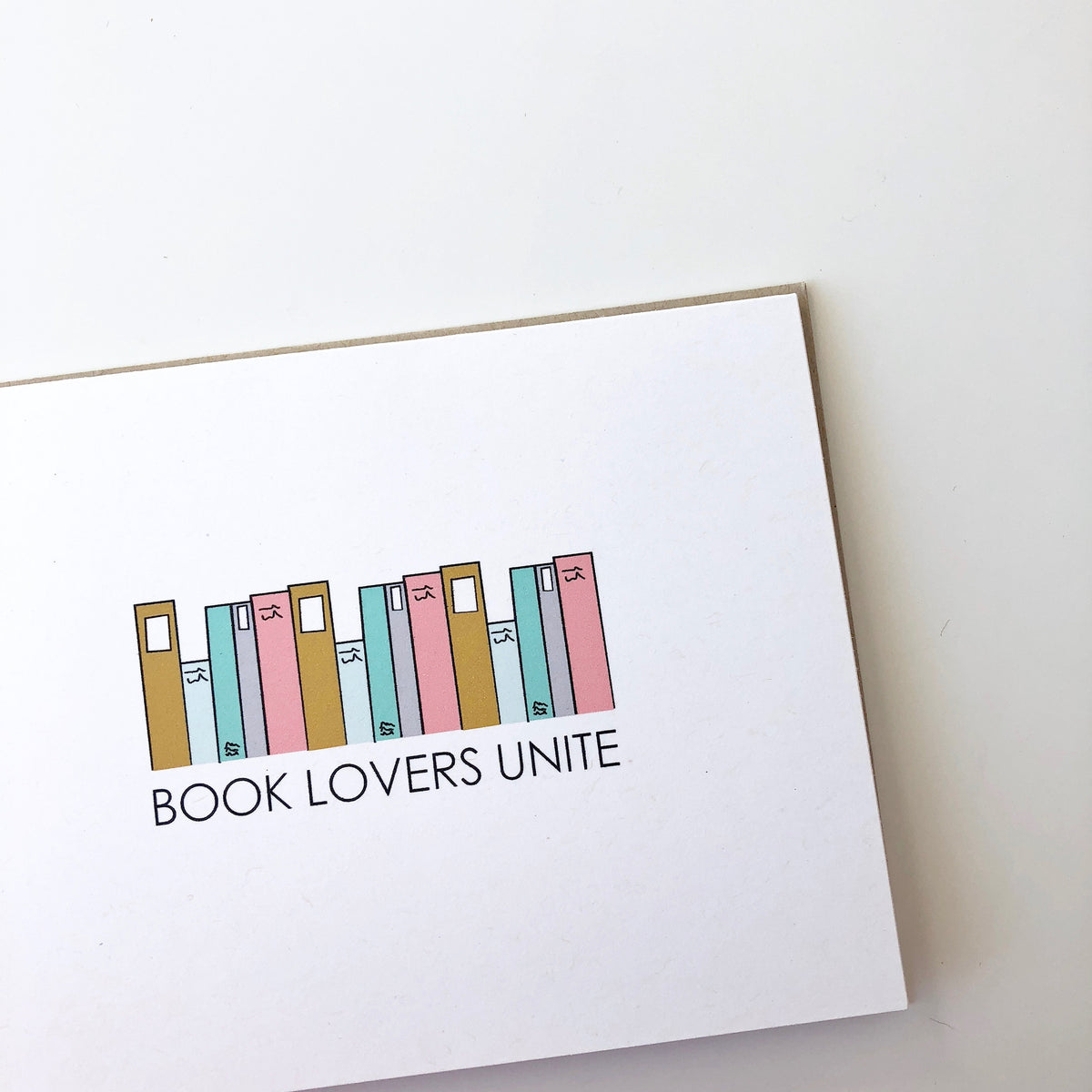 Book Lovers Unite Card