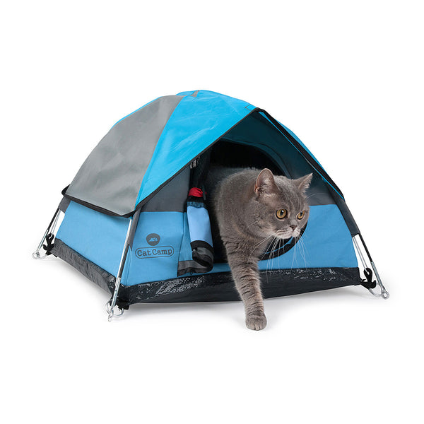 Cat camp cat camp tiny tents for cats for Cat tent