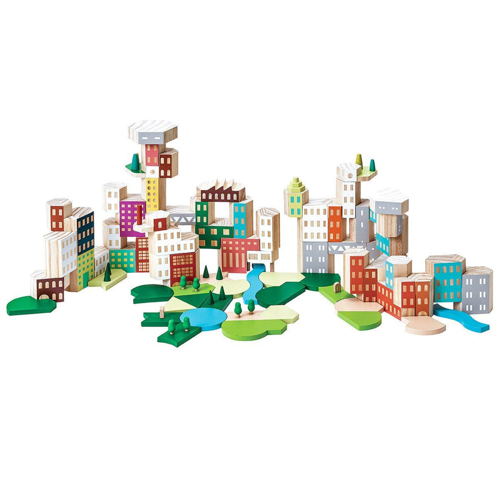 Blockitecture Big City Collectors Set Building Blocks