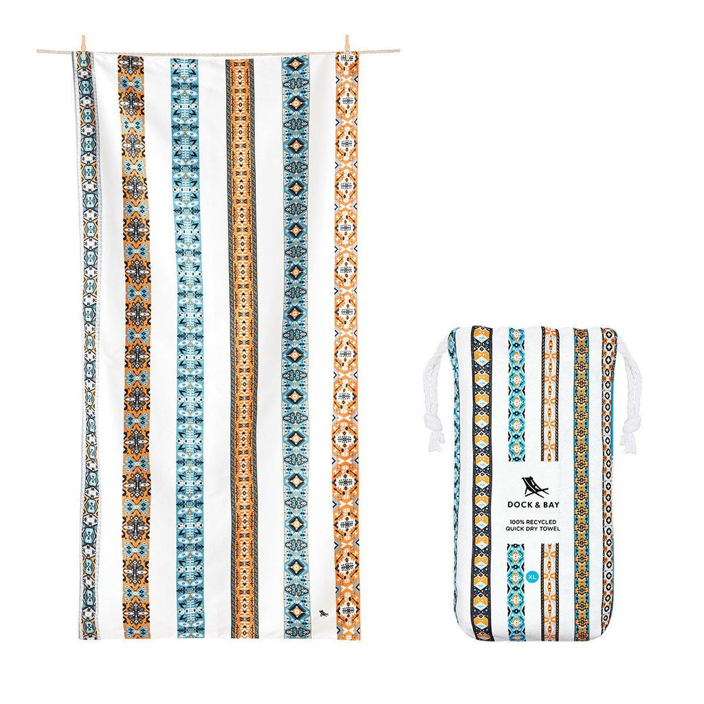 Beach Towel Bohemian Collection XL 100% Recycled