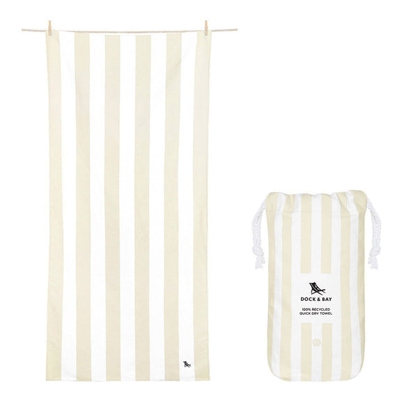 Beach Towel Cabana Light Collection XL 100% Recycled